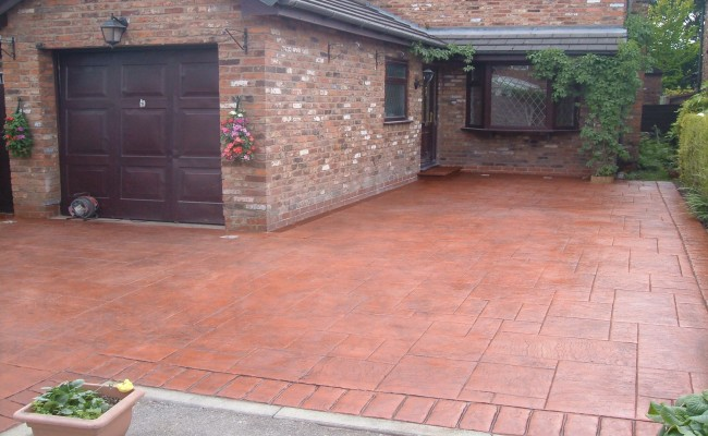 Imprinted Concrete Driveways Specialists Driveway Designs
